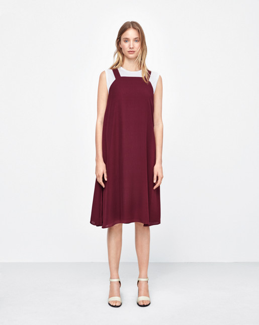 Flowy Dress Mulberry