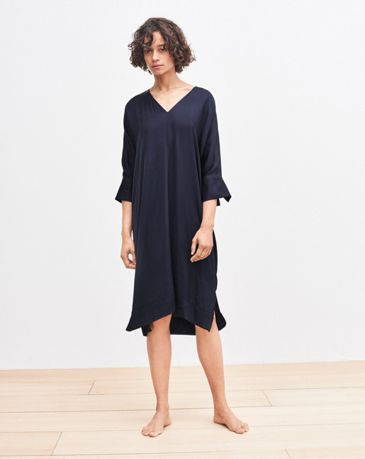 Jessie Tunic Dress Blue Graphite