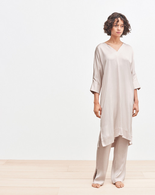 Jessie Tunic Dress Powder
