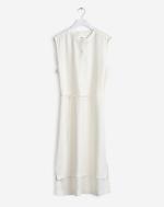 High Low Shirt Dress Offwhite