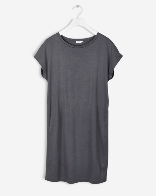 T-Shirt Summer Dress Concrete