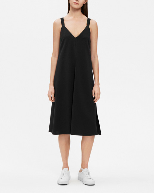 Ami Slip Dress Black
