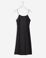 Slinky Slip Dress Black