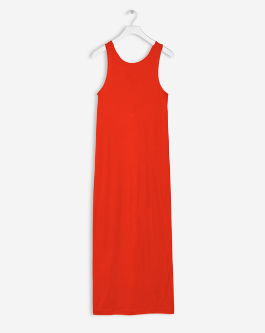 Twisted Tank Dress Poppy