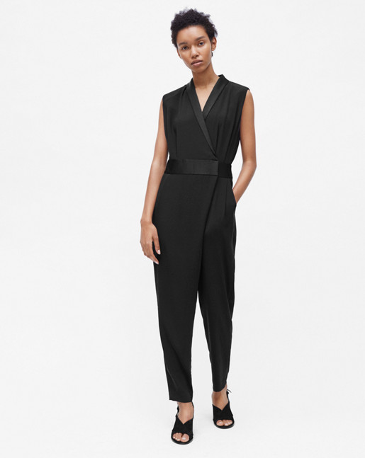 Party Pantsuit Black
