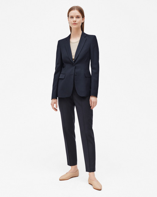 Eve Cool Wool Jacket Dk Navy