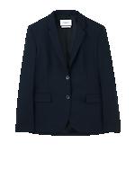 Gracie Cool Wool Jacket Dk Navy