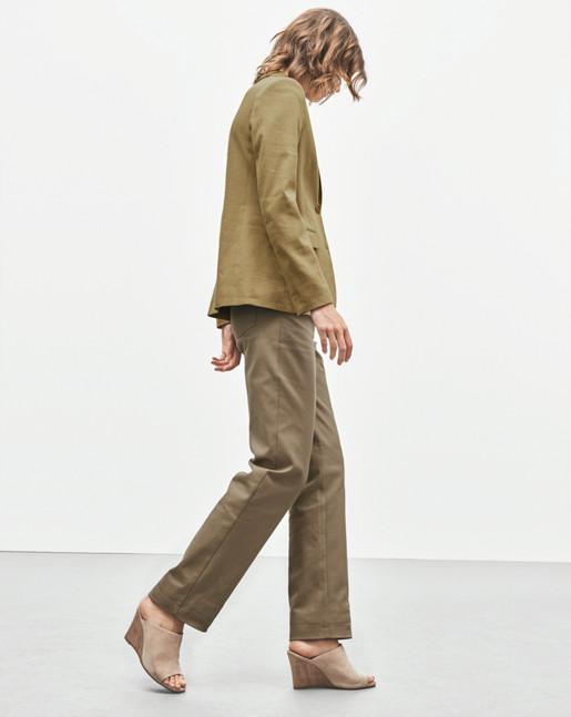 Gracie Linen Mix Jacket