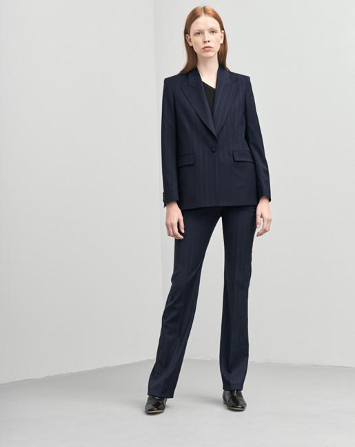 Sally Pinstripe Jacket