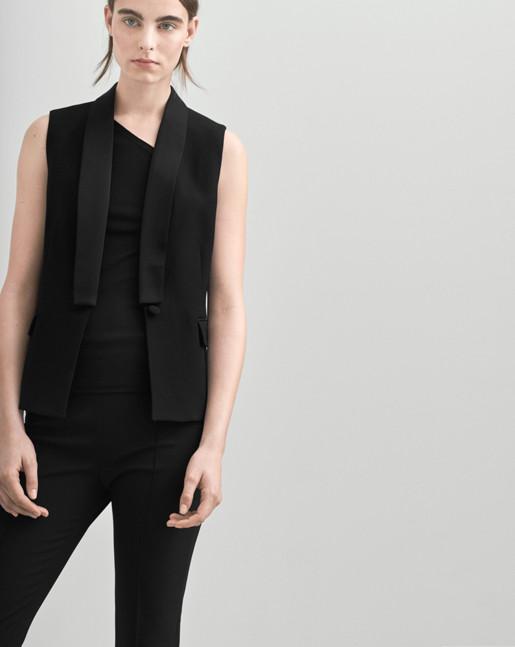 Tailored Tuxedo Vest