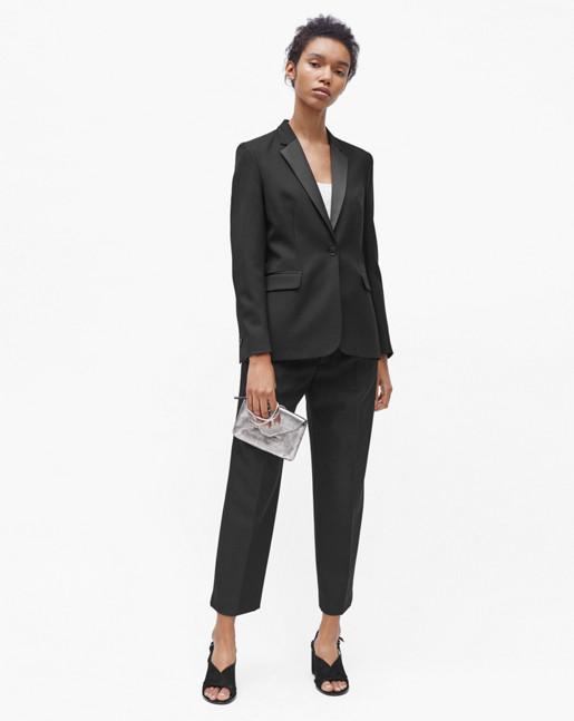 Leah Luxe Jacket Black