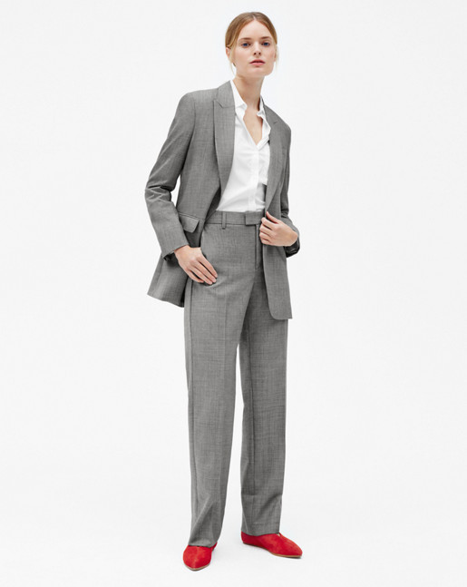 Blake Suit Jacket Grey