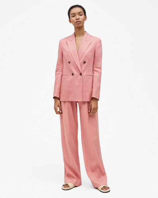 Katie Suit Jacket Salmon