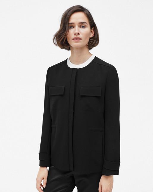 Harper Utility Jacket Black