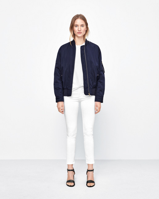 Bomber Jacket Bright Navy