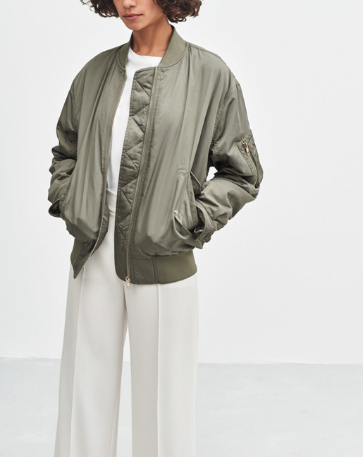 Bomber Jacket Leaf