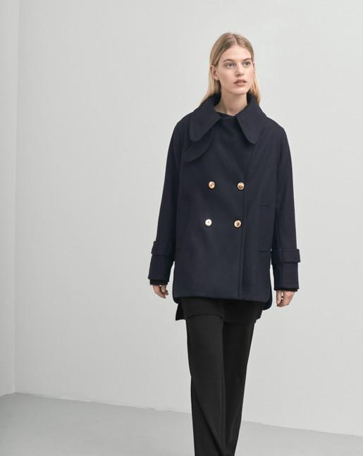 Leo Wool Jacket Blue/Black