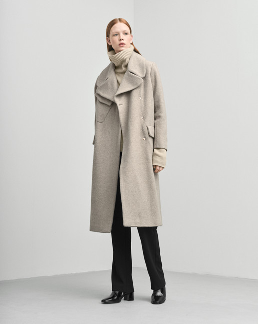 Drake Coat Dove