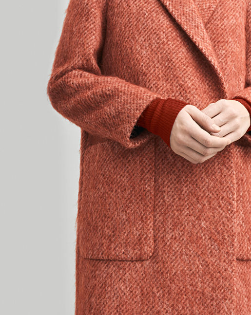 Lauren Mohair Coat →