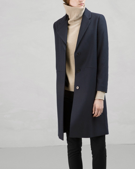 Front Runner Coat Navy