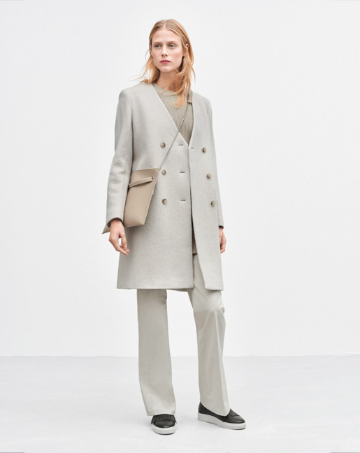 Linea Coat Linen Mel