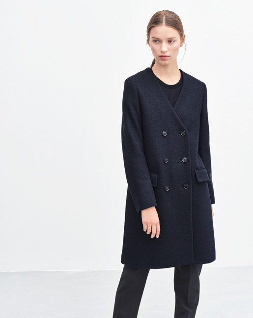 Linea Coat Navy