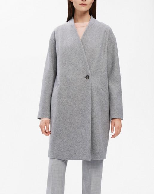 Elise Coat Grey Mel