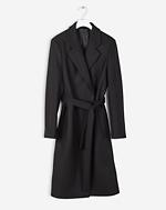 Eden Belted Coat Black