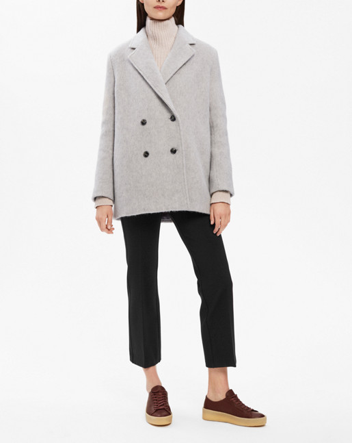 Leigh Plush Peacoat Grey Mel.