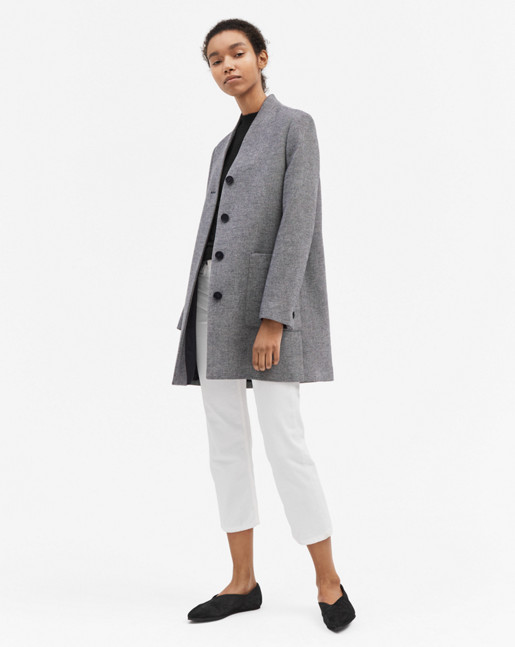 Lara Coat Two-tone