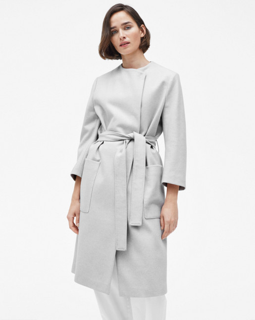 Blair Belt Coat Mineral