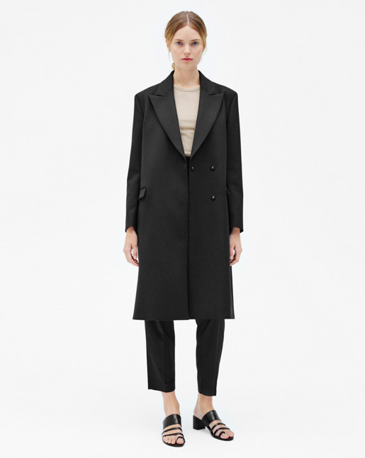 Nova Wool Coat Black