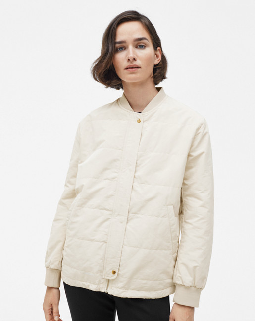 Ryder Bomber Jacket Bone