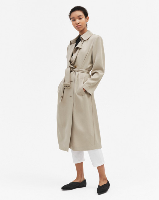 Daria Drapey Trench Hemp