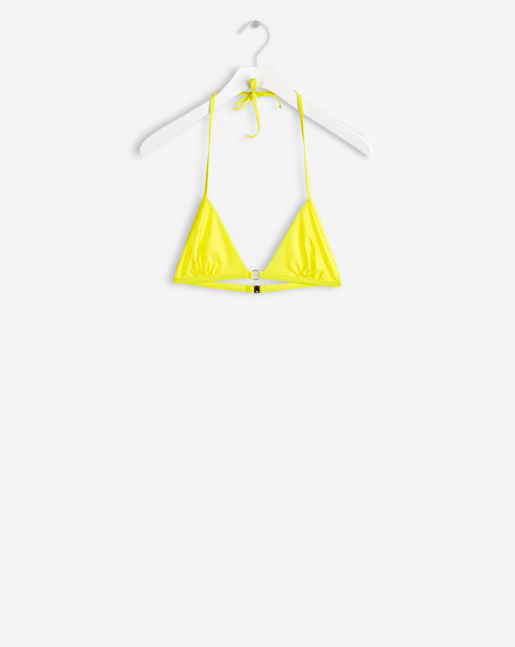 Bikini Triangle Top Lemon