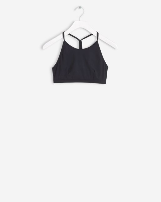 Swim Top Black