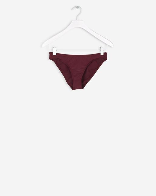 Shiny Bikini Bottom Mulberry