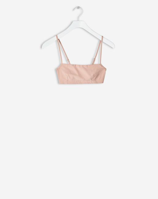 Bandeau Strap Top Pale Pink