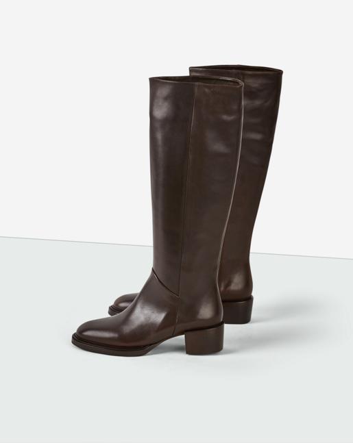 Karen High Boot dk Chocolate