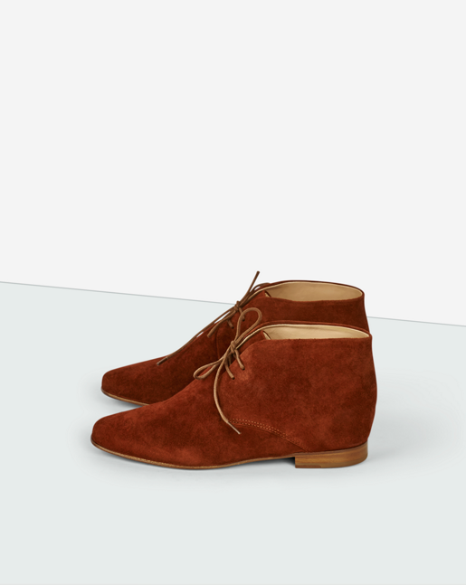 Chris Desert Boot Dk Red Rust
