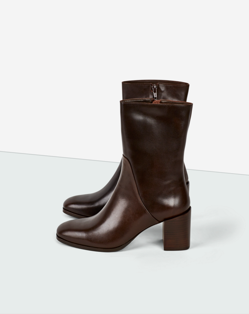Janis Boot Dk Chocolate
