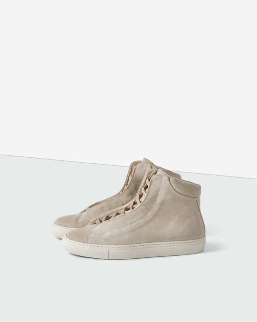 Elina High Sneaker Sand