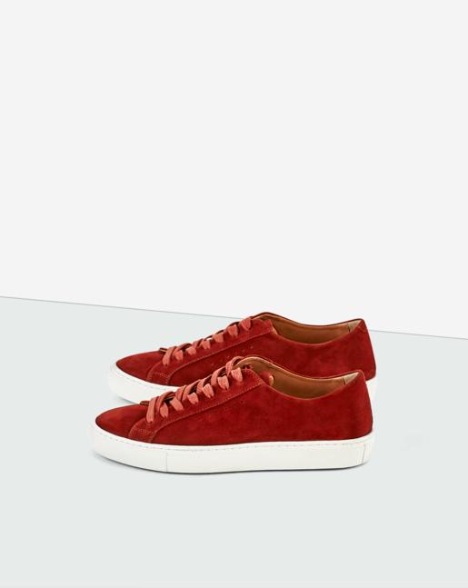 Kate Sneaker Dk Red Rust
