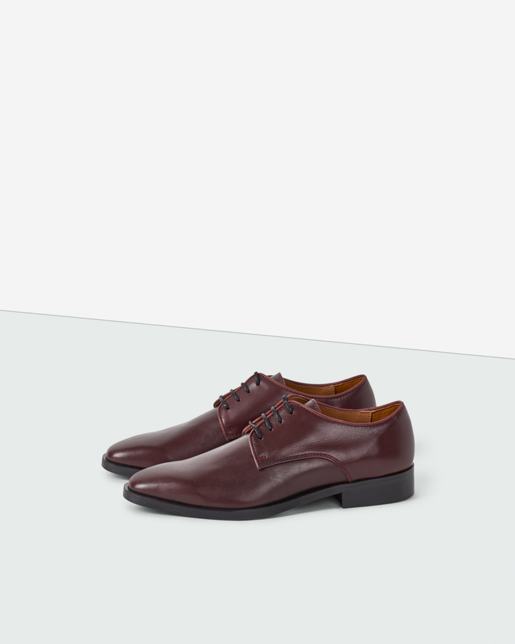 Codie Laced Shoe Burgundy