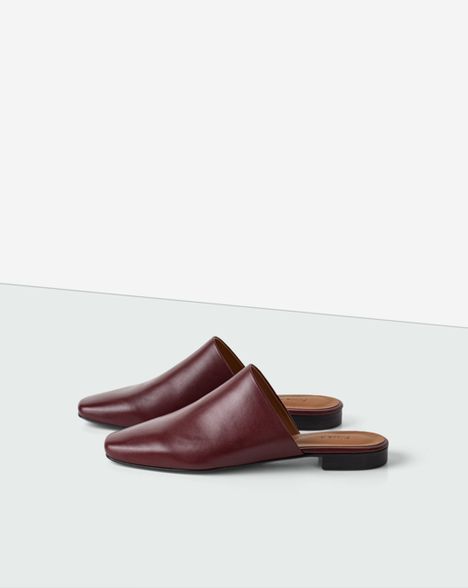 Sue Slip-in Shoe Burgundy