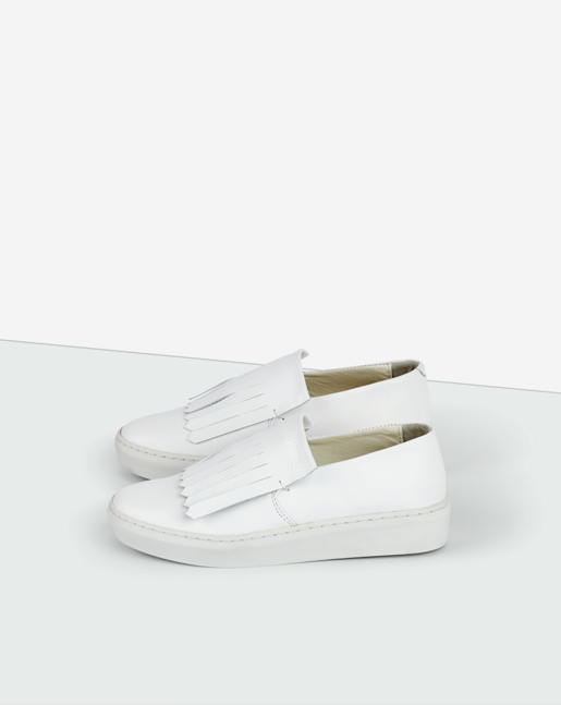 Ally Slip-on Shoe White