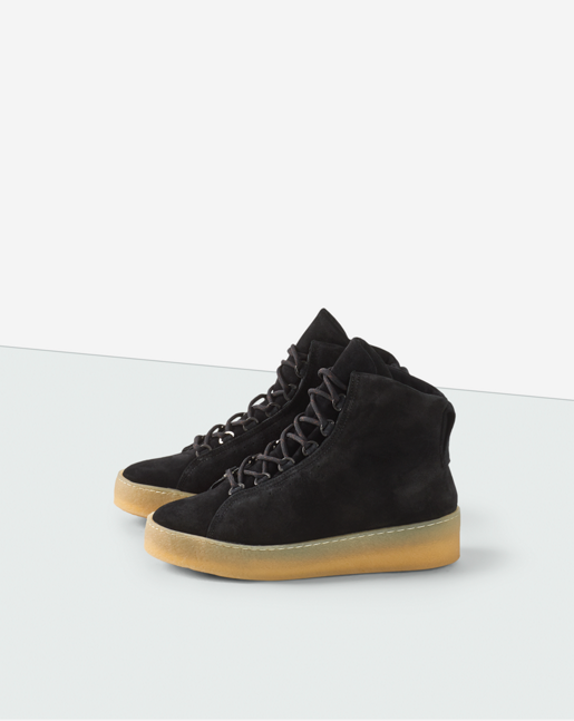 Anna Warm High Top Black