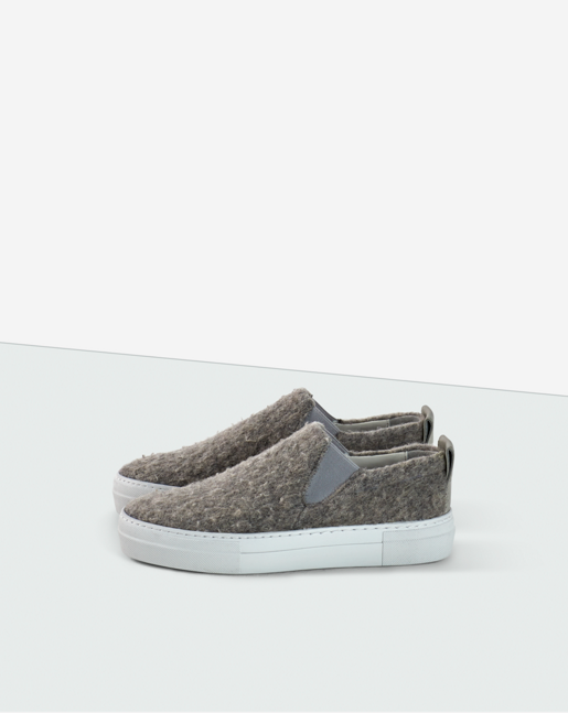 Brooke Wooly Slip On