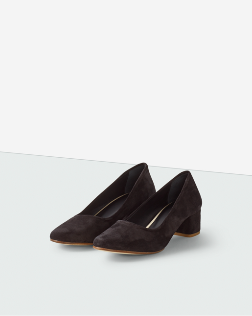 Lorena Pump Black Suede