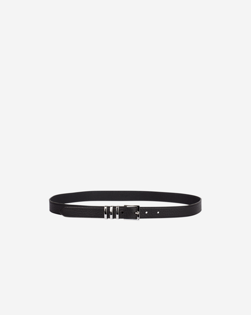 Heavy Buckle Belt Black